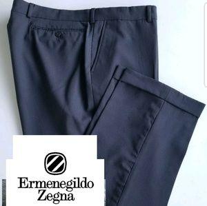 Ermenegildo Zegna Men's Soft Wool Dress Pant 39X29